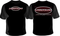 Lingenfelter Race Gear - Double sided logo Tee $16.00 Small - 3X.  Shop:  http://www.lingenfelter.com/mm5/merchant.mvc?Screen=PROD&Store_Code=LPE&Product_Code=L91191BK&Category_Code=C495#.VM07SJUtEcM #Camaro #Corvette #Chevy #Lingenfelter