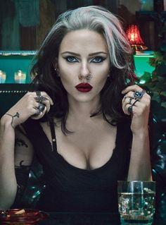 Model: Scarlett Johansson  Stylist: Edward Enninful  Photographer: Steven Klein