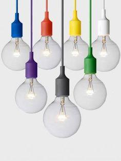 Socket Lamp by Muuto Suspension Designer Lighting Muuto Lighting, Lounge Lighting, Luxury Lighting, Bar Lighting, Modern Lighting, Lighting Design, Kitchen Lighting, Lighting Ideas, Cheap Pendant Lights
