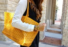 MONDAY MUSINGS: ALL GOYARD EVERYTHING | brains of the outfit