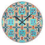 Tribal, Western, Native, Pattern Print 1  #Native #Pattern #Print #RusticClock #Tribal #western The Rustic Clock