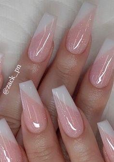 simple and elegant dip powder nails 4 ~ my.me simple and elegant dip powder nails 4 ~ my.me,Nail Ideas simple and elegant dip powder nails 4 ~ my. Ombre Nail Designs, Simple Nail Designs, Acrylic Nail Designs, Nail Art Designs, Nails Design, Fancy Nails, Pink Nails, Cute Nails, Pretty Nails