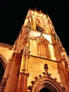 The original beginning to the Way of St James, the Cathedral San Salvador in Oviedo, Spain. (c) GTH & Nathan DePetris