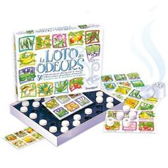 Amazing French smelling lotto game! Our set had an English translation. Great for sensory issues also