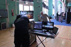 Este - Campionato Regionale Veneta Danza Sportiva. Si prepara la regia (con Alberto Bonesso  - Prandi Dance)