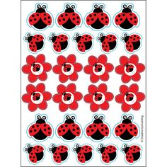 A perfect addition to your Ladybug Party or Baby Shower! Provide them as favors to your little guests, or use them on envelopes, letters, gift wrap, DIY decor, and more! + Package contains (4) sheets