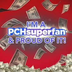 That's Me (Smiles) PCH SuperFan #1