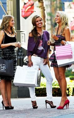 The Girls Have Decided On A Fun Afternoon Of Shopping Its Here They Meet