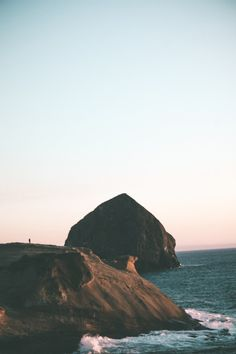 hannahkemp: Haystack Rock//Cape Kiwanda July 2016