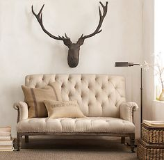 oh. deer. love the couch & pillows