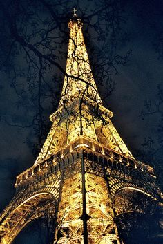 Eiffel Tower, Paris.  Liv wants to hang out here