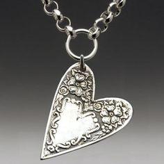 Silver spoon heart...I love it!!