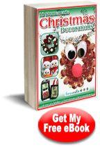 18 Homemade #Christmas Decorations: How to Make Christmas Decorations #eBook