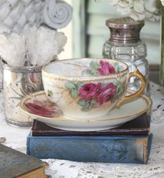 Decorate with Pretty Teacups! See More at thefrenchinspiredroom.com