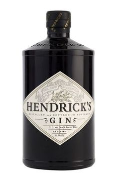 "Hendrick's Gin: A dark, squat, apothecary-influenced bottle bearing the warning: ""It is not for everyone. Please enjoy the unusual responsibly."" Quirky Scottish charm at its best. Come and see our new website at bakedcomfortfood.com!"