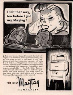 Vintage Advertisements, Vintage Ads, Commercial Laundry, Washing Machines, The Good Old Days, Shrimp, Advertising, Decor Ideas, Retro