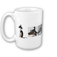 Simple Dog Morphing Mug from http://www.zazzle.com/morphing+mugs