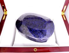 Lot: APP: 11.4k 2,841.00CT Oval Cut Blue Sapphire Gemstone, Lot Number: 0032, Starting Bid: $2, Auctioneer: GovernmentAuction, Auction: Government Asset Inventory Liquidation, Date: April 2nd, 2017 PDT