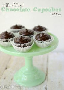 The Best Chocolate Cupcakes - Crazy for Crust