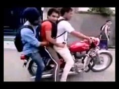 Funny Gags Top Lion Attack / Race / Bike Stunts / Save People from accid...
