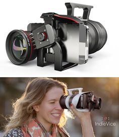 new smartphone filmmaking tool will knock you off your feet!Knock Knock Knock Knock may refer to: Unique Gadgets, Spy Gadgets, Gadgets And Gizmos, Technology Gadgets, Future Gadgets, Photography Gear, Photography Equipment, Iphone Photography, 3d Camera