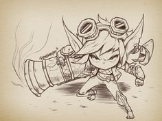 Simple Angry Tristana by Nestkeeper