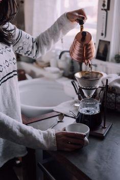 Winter Hazelnut Coffeecake - Christiann Koepke