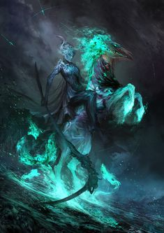 Death and Despair   The Four Horseman by Daniel Karamuden ~ These are all pretty amazing images...
