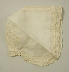 Cap 18th century, British, linen