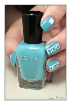 nail art ideas - Zoya Rocky