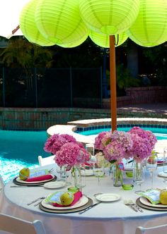 Baby Shower Pool Party Ideas baby shower balloon decorations boy Chinese Paper Lanterns Can Be Hung Inside A Garden Parasol To Decorate The Interio Twins Baby Shower