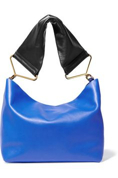 Marni | Maxi Strap leather shoulder bag | NET-A-PORTER.COM