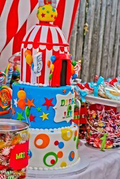 Awesome carnival cake! #carnival #cake #awesome