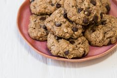 I'm always skeptical about messing with a classic, but this flourless chocolate chip cookie might just be better than the original. Healthy Sweets, Healthy Baking, Healthy Recipes, Flourless Chocolate Chip Cookies, Almond Butter Cookies, Fresh Bread, Eat Smart, Creative Food, Baking Recipes