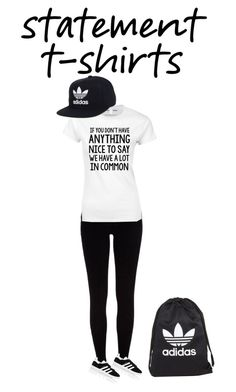 """""""adidas in the house"""" by princessnini0408 ❤ liked on Polyvore featuring River Island and adidas"""
