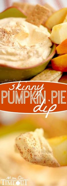 This Skinny Pumpkin Pie Dip is sure to be the hit of your next party! Perfectly seasonal and only FOUR ingredients! | eBay