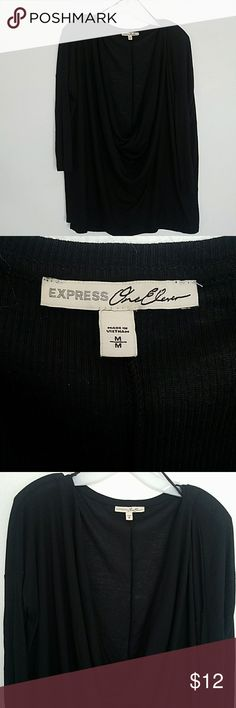 Express deep cowl neck dolman top This top has been worn but is in excellent condition.  The length is 28 inches Express Tops