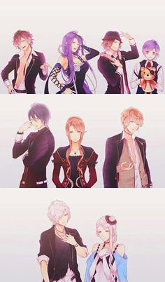 The Sakamaki Brothers and their Mothers - Diabolik Lovers