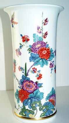 Lenox Large Saxony Vase Smithsonian Meissen Replica #Meissen #PorcelainVase #Kakiemon #SaxonyVase #SmithsonianMuseum #MeissenPorcelain #MeissenVase #MeissenKakiemon