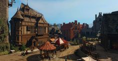Oxenfurt main square