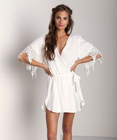 Love This Robe Ha 231 Stone Cold Fox White Scfoxh01 At Largo