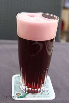 3 Fonteinen Oude Kriek - Amazing color! #beer http://ourtastytravels.com/blog/3-fonteinen-brewery-open-beer-days-in-belgium/