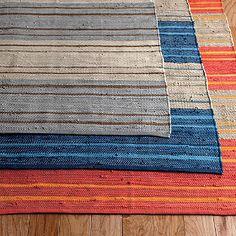 Stripe Mirage Rug  - Bring refreshing color and durable style underfoot.