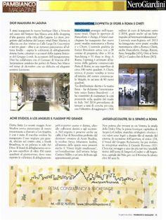 PAMBIANCO Magazine - Gennaio 2014 #stileitaliano firmato #NeroGiardini