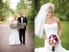 Bride + groom | Photographed by @Laura Ivanova | Wisconsin Bride Magazine