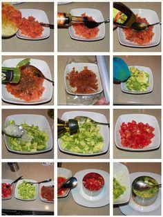 Miel y Limón Recetas Tartar Salmon Aguacate, Vegetarian Recipes, Cooking Recipes, Drinks Alcohol Recipes, Palak Paneer, Tapas, Sushi, Seafood, Food Porn