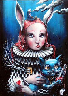ALICE IN WONDERLAND BY DARIA PALOTTI