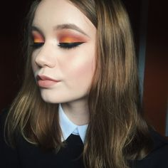 #TheBeautyBoard Makeup of the Day: Sunset Inspired by KtieMrch. Upload your look to gallery.sephora.com for the chance to be featured! #Sephora #MOTD