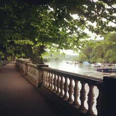 One of my favourite places! By the river in Orleans gardens, Twickenham