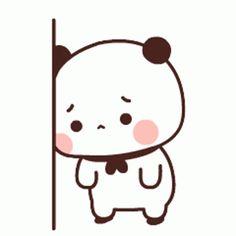 Cute Panda Cartoon, Cute Anime Cat, Cute Cartoon Characters, Cute Cartoon Pictures, Cool Anime Girl, Cute Bear Drawings, Cute Little Drawings, Chibi Cat, Cute Chibi